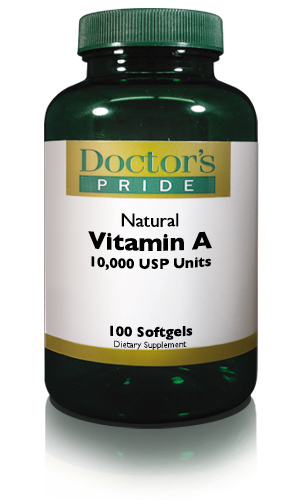 VITAMIN A SOFTGELS (10000 IU)