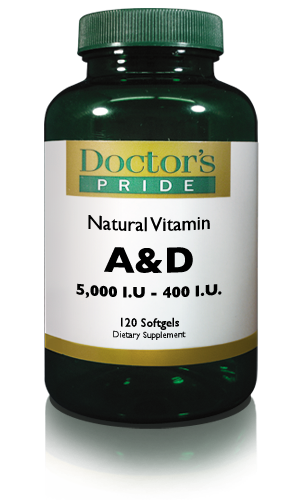 VITAMIN A & D SOFTGELS