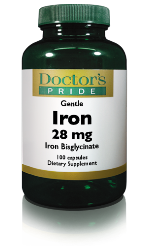 Gentle Easy Iron 28 Mg (Iron Bisglycinate)