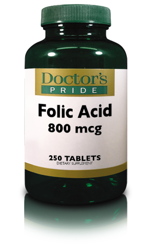 FOLIC ACID TABLETS 800 MCG