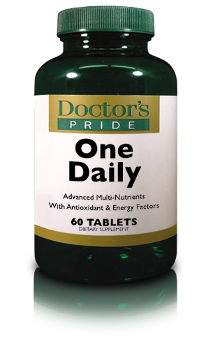 **REFORMULATED** DOCTORS PRIDE TOTAL ONE DAILY (iron free)