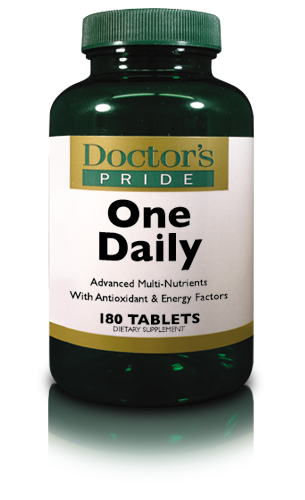 **REFORMULATED** - DOCTORS PRIDE TOTAL ONE DAILY (iron free)