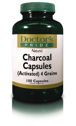 CHARCOAL CAPSULES 260 MG (Activated)