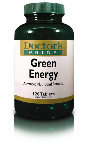 GREEN ENERGY Superfoods With Spirulina, Chlorella, Chlorophyll, Wheat Grass and More