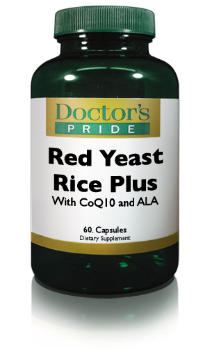 RED YEAST RICE 600 MG PLUS Alpha Lipoic & CoQ10