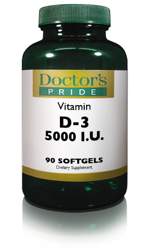 VITAMIN D-3 (CHOLECALCIFEROL) 5000 IU SOFTGELS