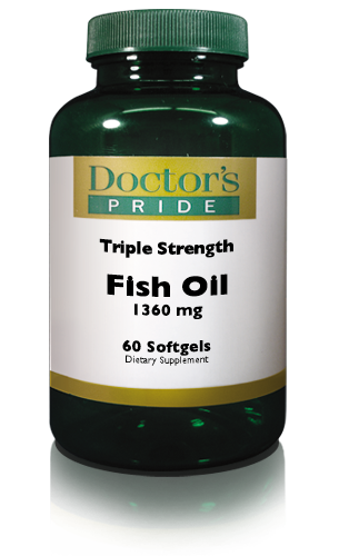 FISH OIL TRIPLE POTENCY 1360 Mg