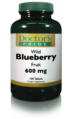 WILD BLUEBERRY FRUIT 600 MG