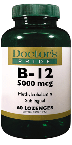 B-12 5000 MCG SUBLINGUAL (Methylcobalamin)