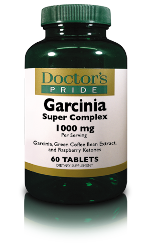 GARCINIA COMPLEX With Green Coffee & Raspberry Ketones