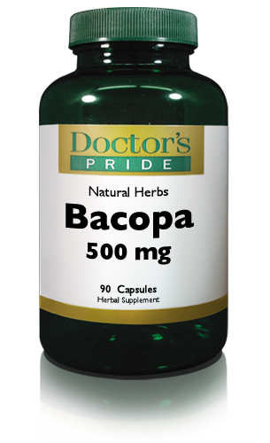 BACOPA MONNIERI LEAF EXTRACT 500 MG