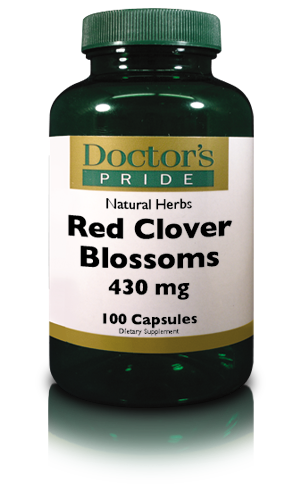 RED CLOVER BLOSSOMS 430 MG