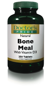 BONE MEAL WITH VITAMIN D TABLETS