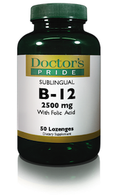 B-12 2500 MCG SUBLINGUAL LOZENGES
