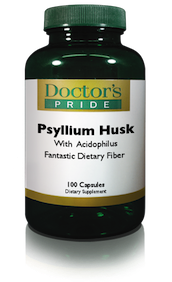 PSYLLIUM HUSK CAPSULES 850 MG With Acidophilus