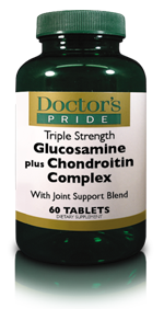Triple Strength GLUCOSAMINE COMPLEX WITH CHONDROITIN/MSM & BORON