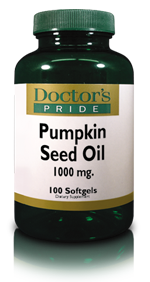 PUMPKIN SEED OIL SOFTGELS 1000 MG