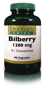 BILBERRY 1200 MG CAPSULES