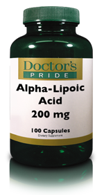 ALPHA LIPOIC ACID 200 MG (ALA) WITH BIOTIN