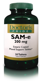 SAM-E 200 MG Enteric Coated Tablets