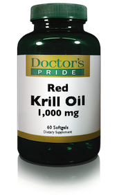 KRILL OIL 1000 MG (RED KRILL SOFTGELS)